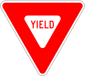yield sign r1-2